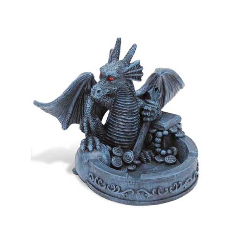 Popolník drak s pokladom