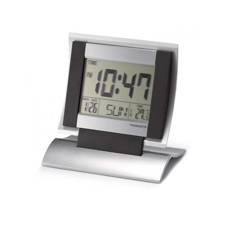 Plastové hodiny s teplomerom a kalendárom