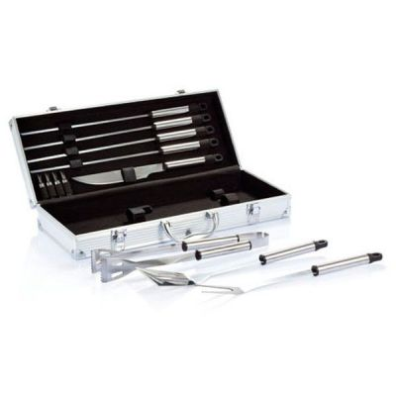 Kufrík s grilovacím náradím 12 kusov
