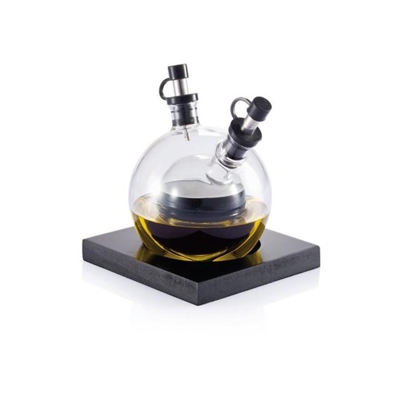 OIL & VINEGAR štýlová sklenená nádoba na olej a ocot