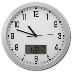Kuchynské hodiny s dátumom a teplomerom