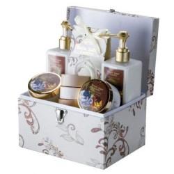 Darčekový kufrík pre ženy s vôňou vanilky