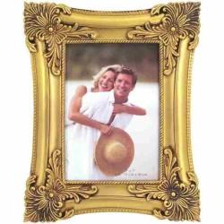 Zlatý rámik na fotografie 13 x 18 cm