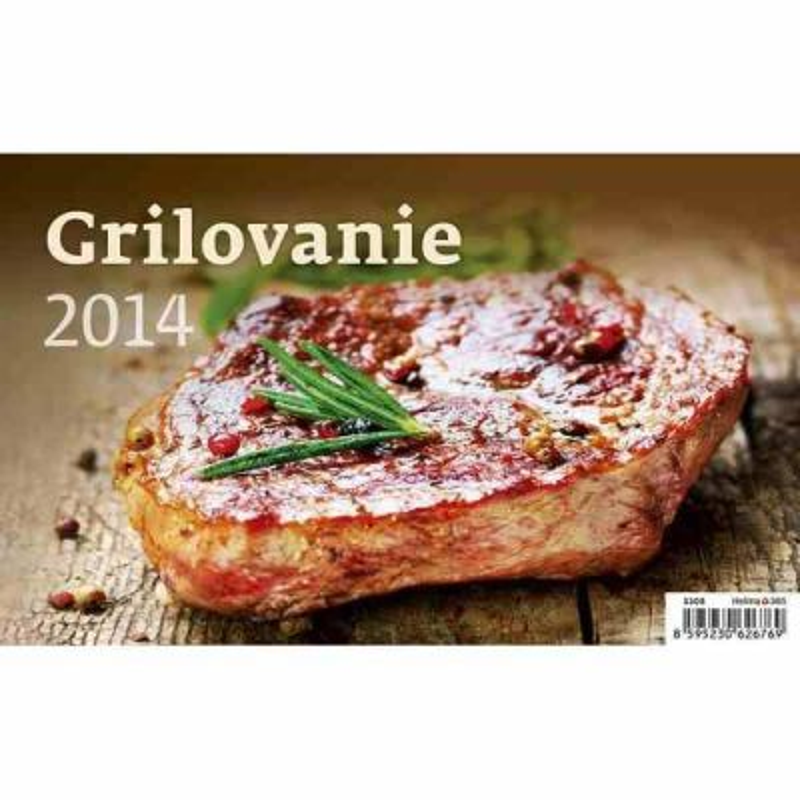 Stolový kalendár Grilovanie 2014