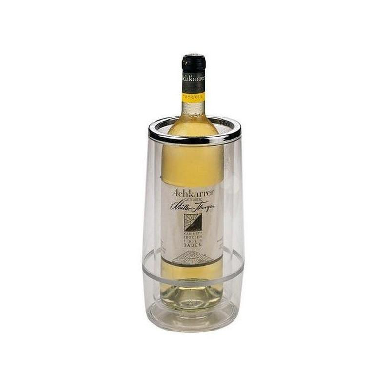 Nádoba na chladenie vína - transparentná