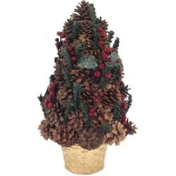Malý šiškový vianočný stromček 40 cm
