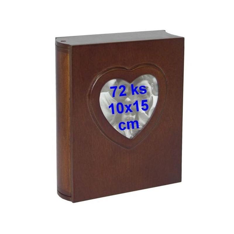 Kniha srdiečko - album na 72 fotografií