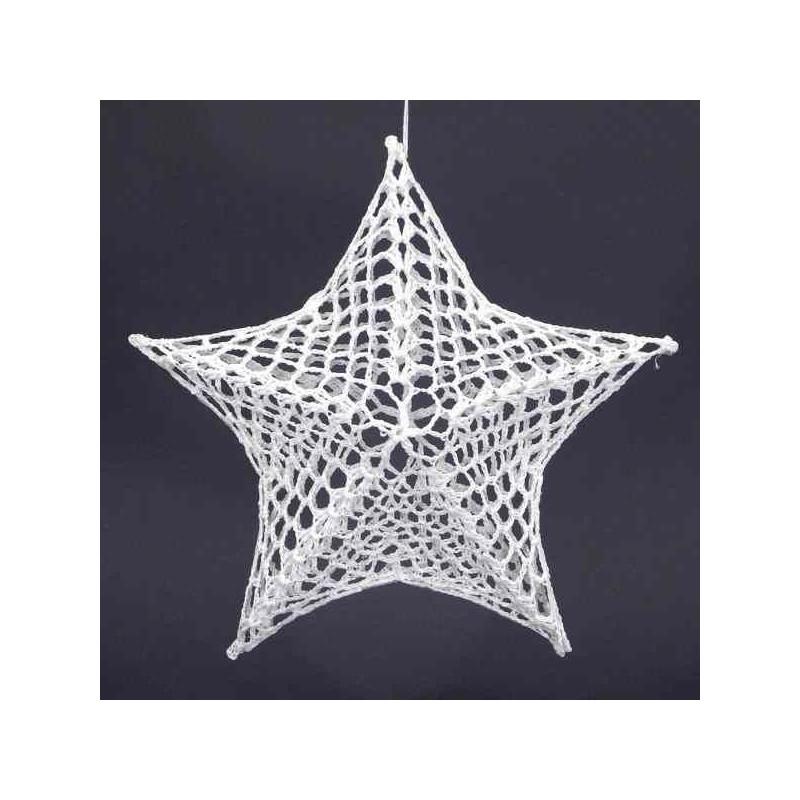Vianočná hviezda na stromček 14 cm