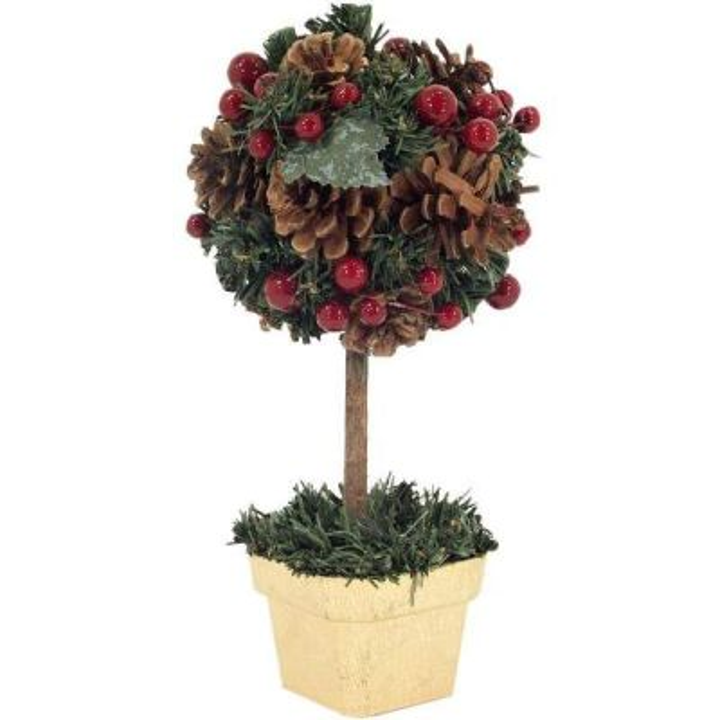 Zdobený vianočný stromček guľa