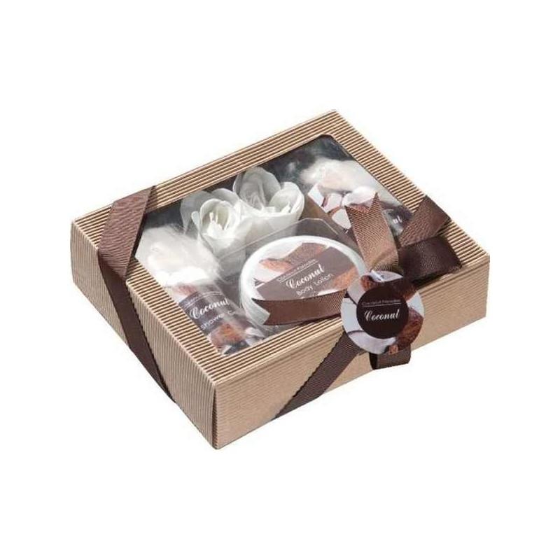 Darčeková súprava pre ženy s vôňou kokosu