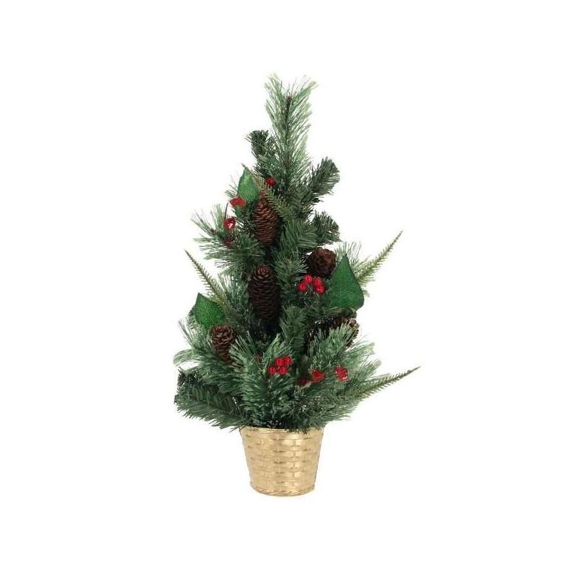 Ozdobený vianočný stromček na zavesenie 40 cm