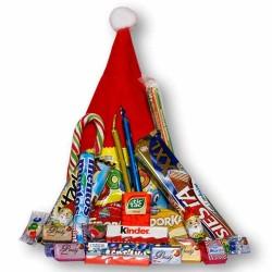 Mikulášska čapica plná sladkostí