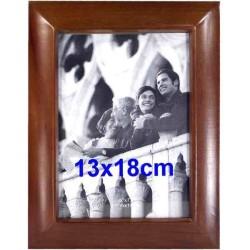 Klasický drevený fotorámik 13 x 18 cm
