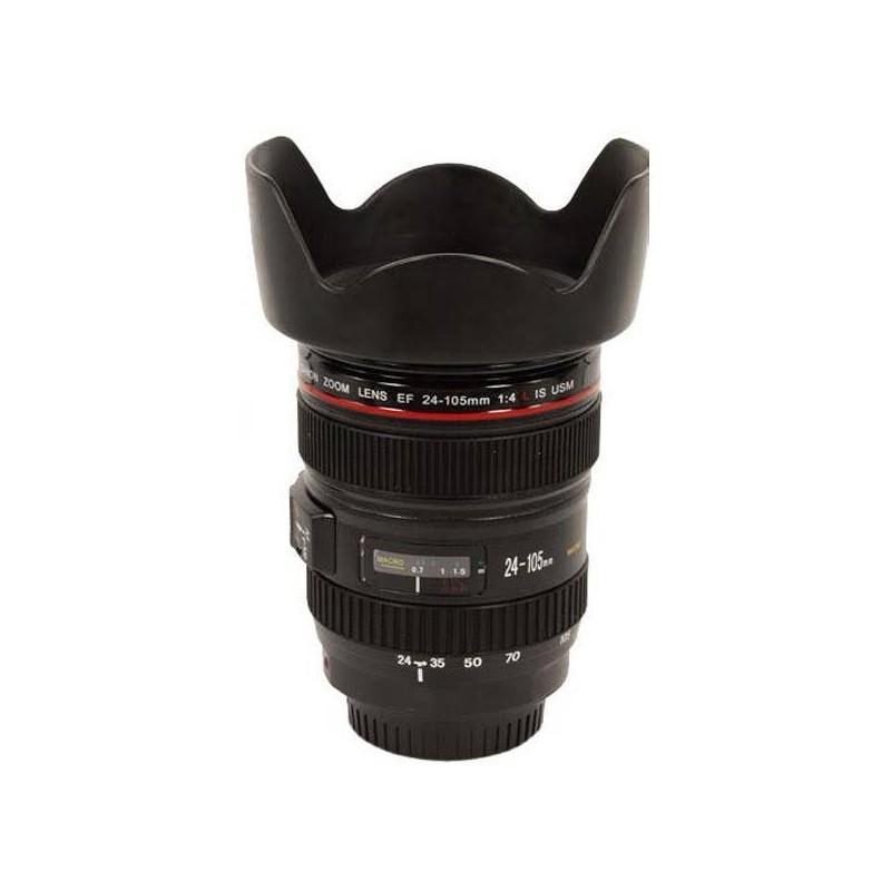 Fotohrnček objektív - darček pre fotografa