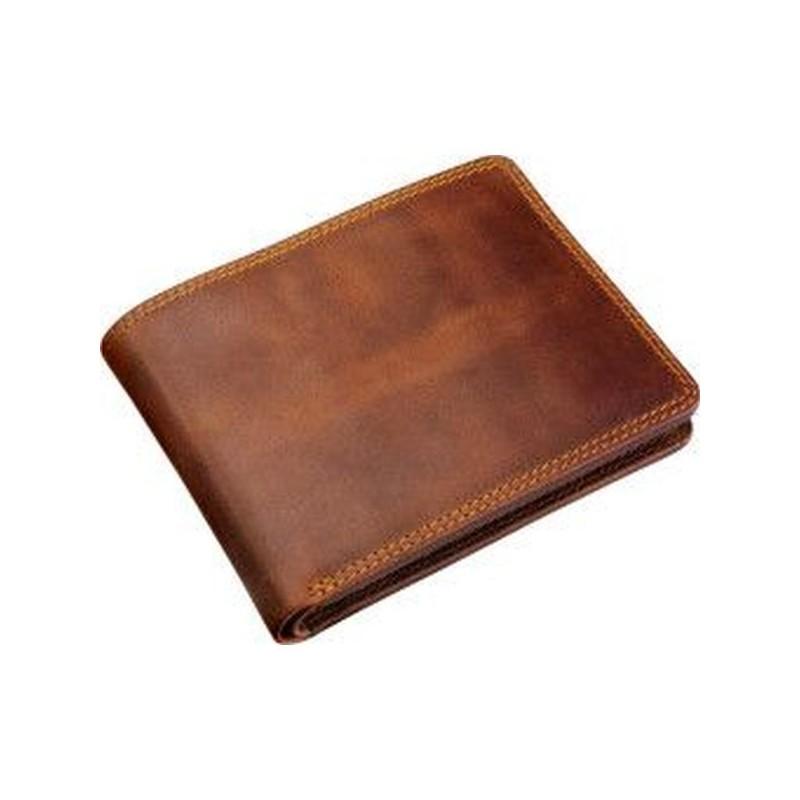Krásna hnedá peňaženka pre muža