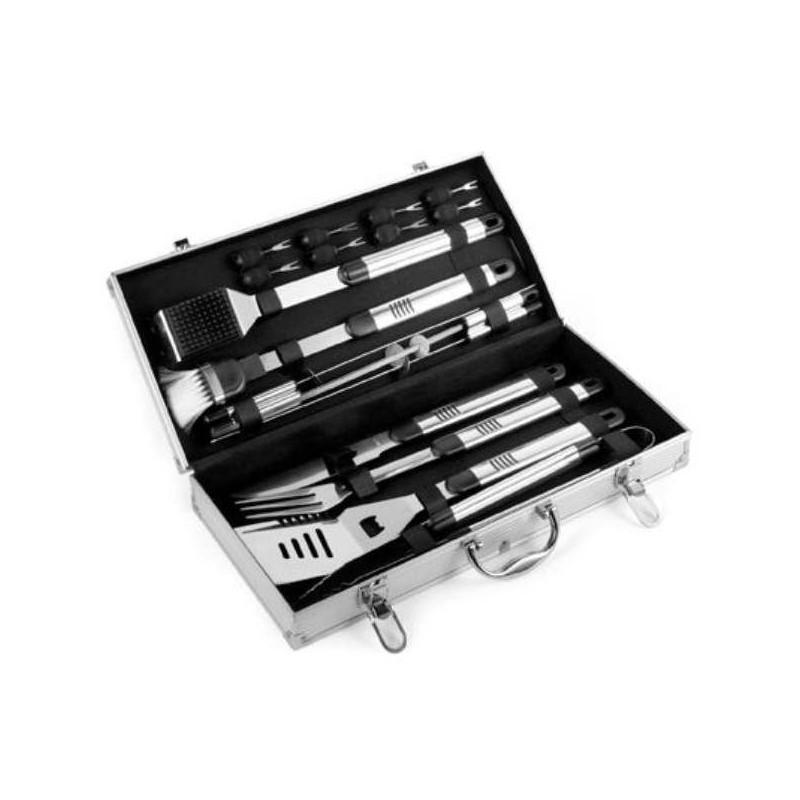 Darčekový set grilovacieho náradia v kufríku 18 kusov