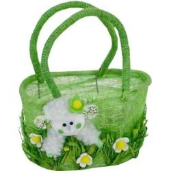 Jarný košíček s ovečkou