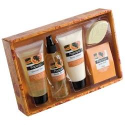 Kozmetický set pre ženy s vôňou papaye