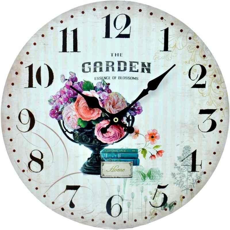 GARDEN hodiny v záhradnom štýle