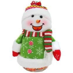 Snehuliačik plný sladkých cukríkov