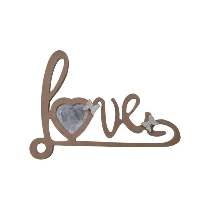 Rámik na fotografiu nápis LOVE