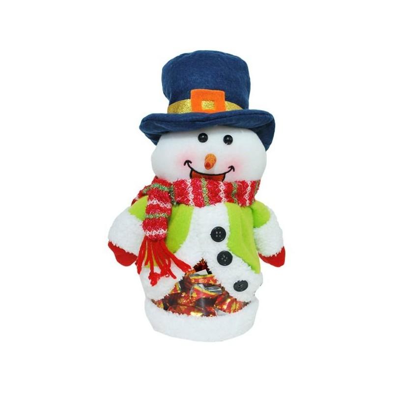 Mikulášsky darček snehuliak