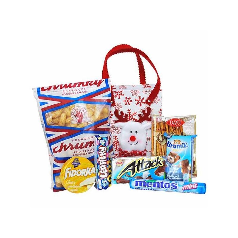 Mikulášsky balíček v luxusnej taške so zvieratkom