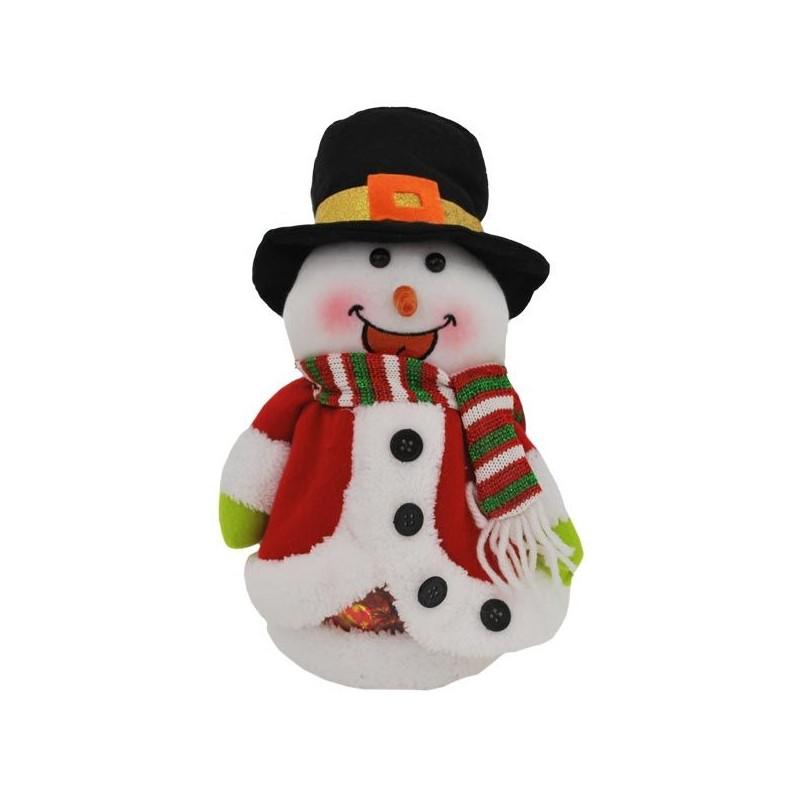 Snehuliak v červenom kožuchu - Mikulášsky darček