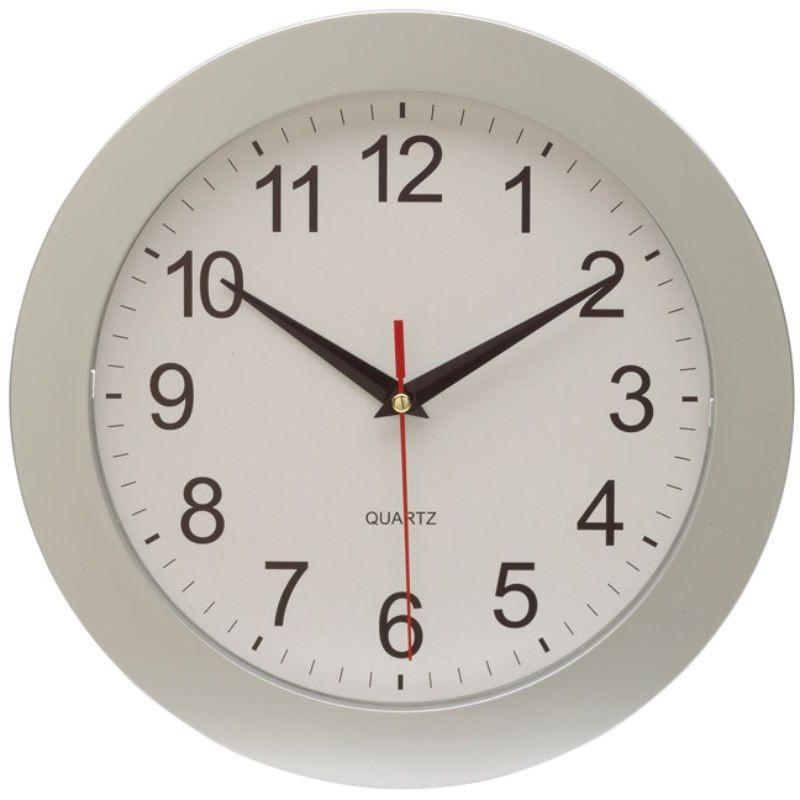 Nástenné hodiny s veľkými číslicami