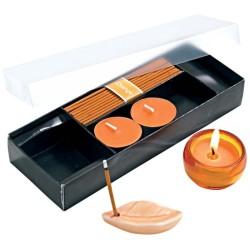 Oranžová relaxačná súprava vôňa pomarančov